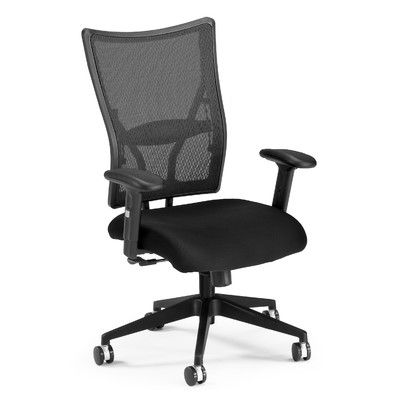 Office Chair Upholstery Fabric. Ofm Ultimate High Back Mesh Desk Chair  Upholstery: Black