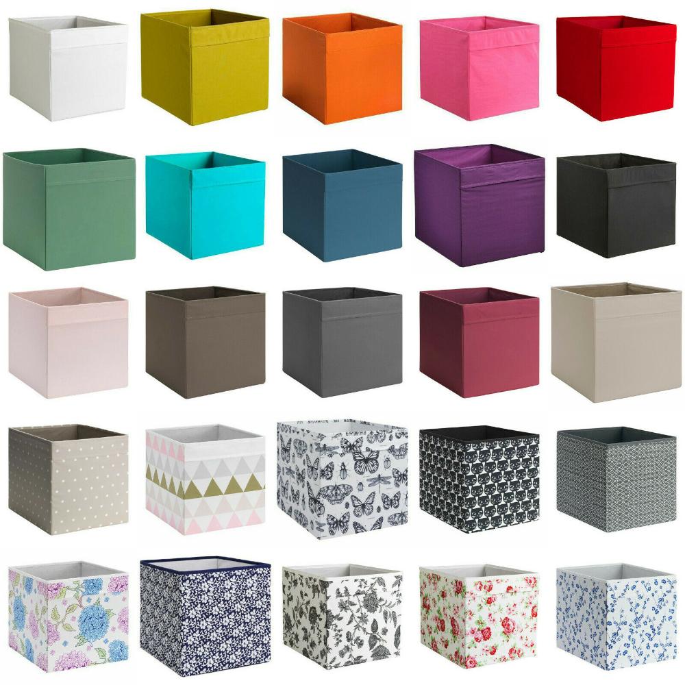 Aufbewahrungsboxen Aufbewahrungsbox Regalbox für Expedit BOX 33x33 cm weiß NEU