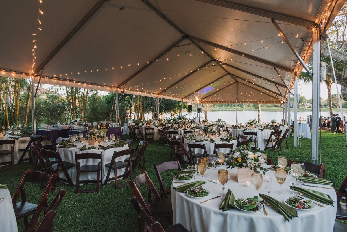 Elegant Backyard Wedding Reception elegant backyard wedding | paula and ryan's wedding | pinterest