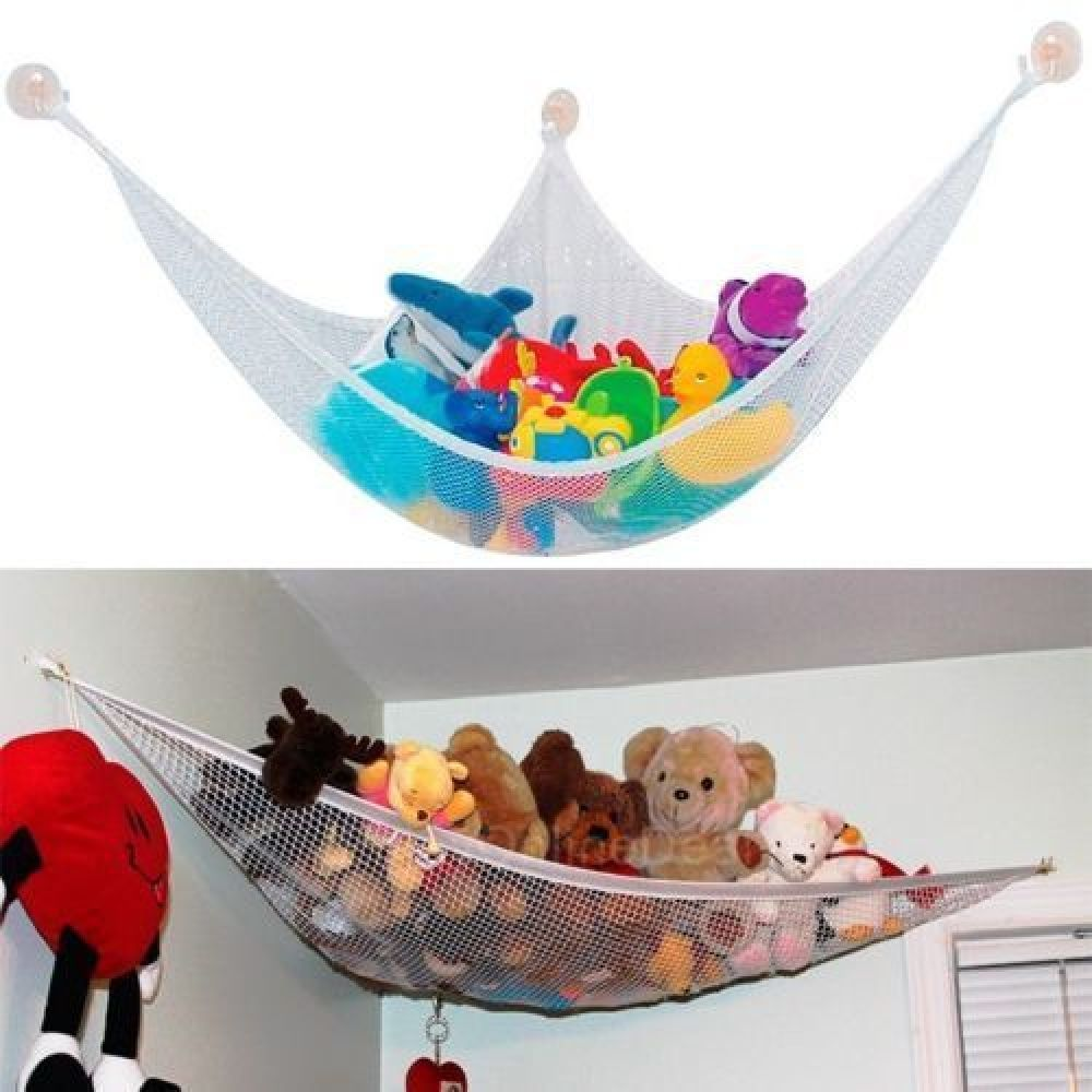 Toy Hammock Net Stuffed Animals Organize For Kids Toy New Organizer Storage