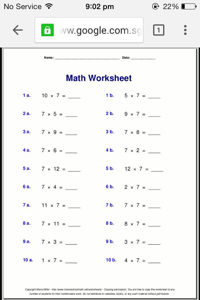 Math Boring Free Math Worksheets 4th Grade Math Worksheets 7th Grade Math Worksheets