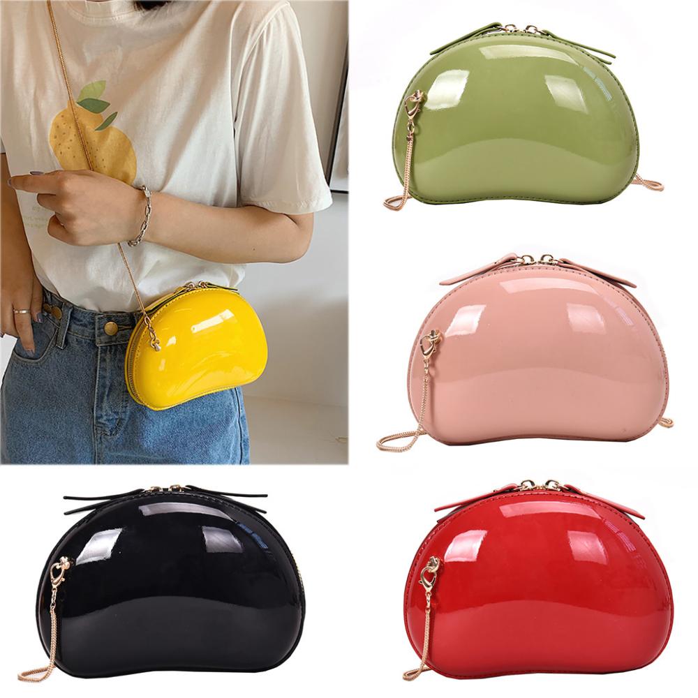 Mujeres Moda Casual Lindo Salvaje Versátil Cadena Hombro Candy Messenger Bag Bolsa para teléfono móvil Bolsa Feminina Pequena Da Mini 50-In Bolsas con asa superior