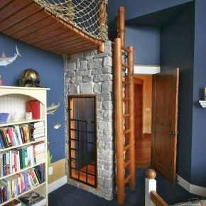 Crazy Bedroom Designs - Image 13 : Uncommon Pirate Boat themed ...