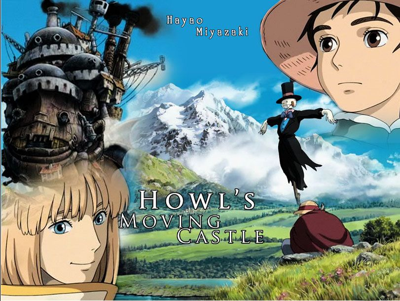 Howl S Moving Castle 2004 Howls Moving Castle Howl S Moving Castle Movie Howl S Moving Castle