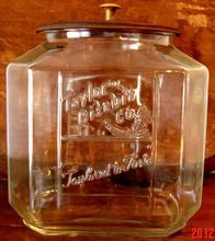 Taylor's Biscuit Co. Country Store Glass Jar