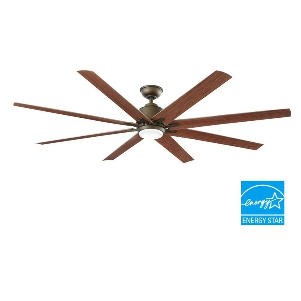 Large Indoor Fans Home Decorators Collection Kensgrove 72 In Led Indoor Outdoor