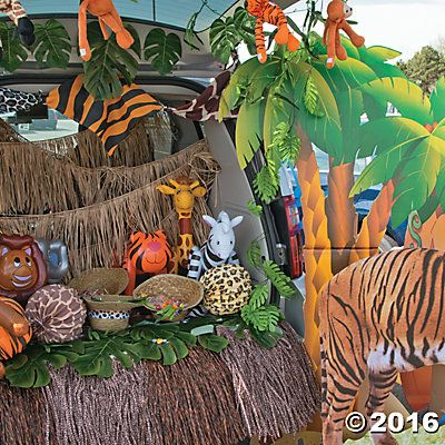 Safari Trunk or Treat Car Decorations Idea | trunk or treat ...