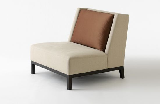 Christian Liaigre Single Sofa Chair Furniture