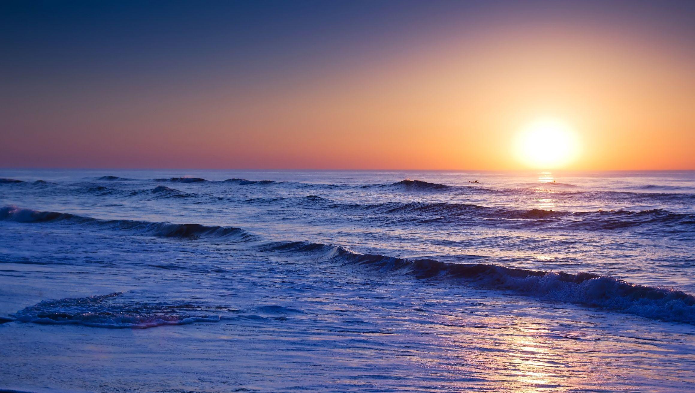 Sunrise Over The Atlantic Ocean Wallpaper Beach Wallpaper Sunrise