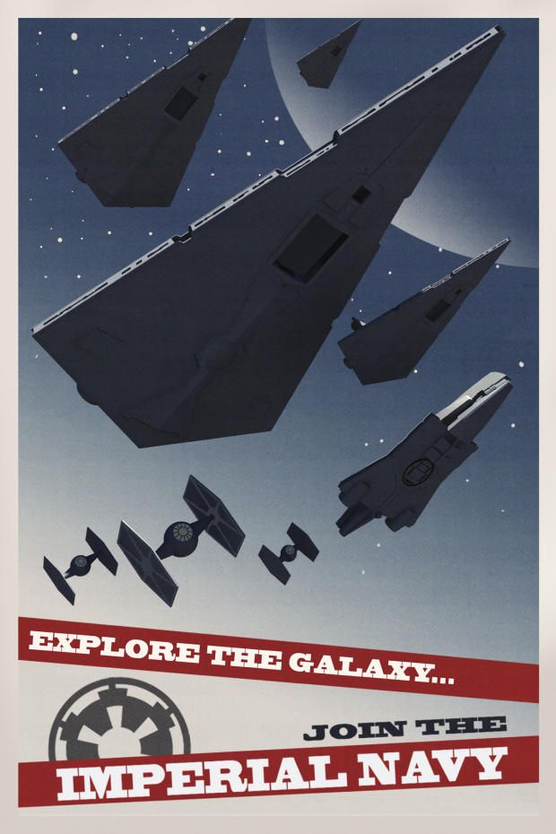 Star Wars - Imperial Recruitment Posters!