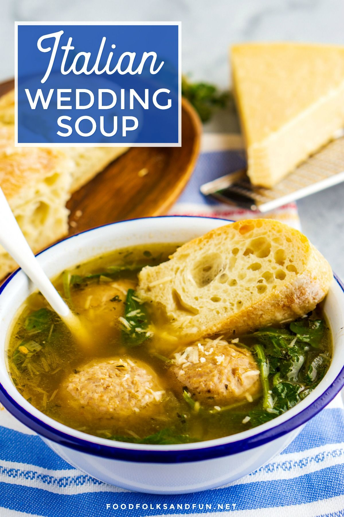 This shortcut Italian Wedding Soup recipe is an easy and