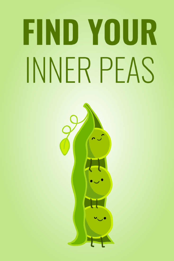 Relax and find your inner peas | Cute jokes, Funny puns ...