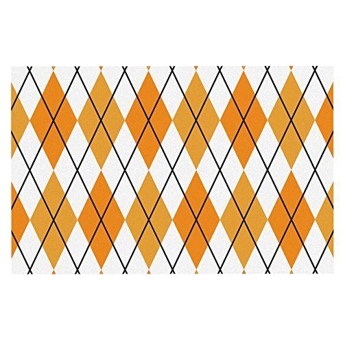 Kess InHouse Miranda MOL Orange Swirl Kiss Table Runner