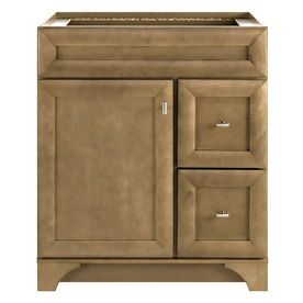 Diamond Hanbury Tuscan Traditional Poplar Bathroom Vanity (Common: 30 In X  21