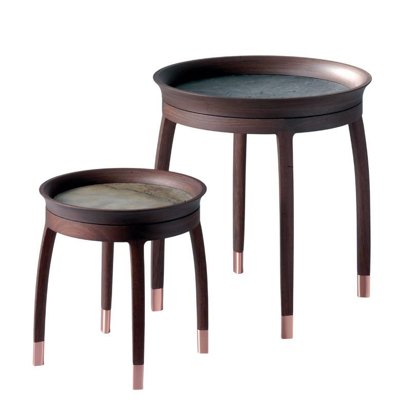 Lacquer Round Coffee Table