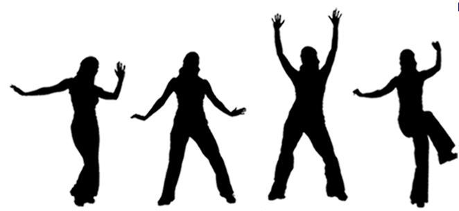 Pin By Megan Taylor On Health Silhouette Png Zumba Silhouette