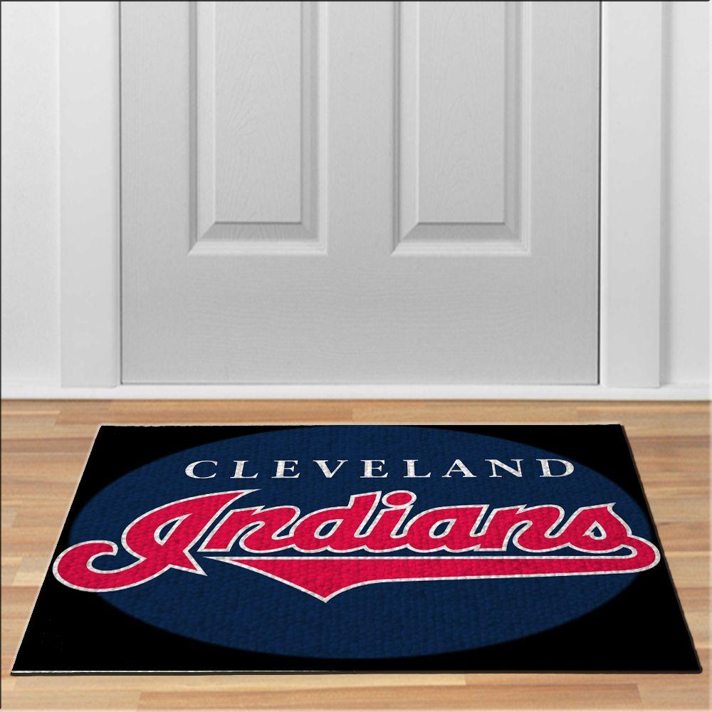 Cleveland Indians Logo Baseball Navy Blue Mlb Baseball