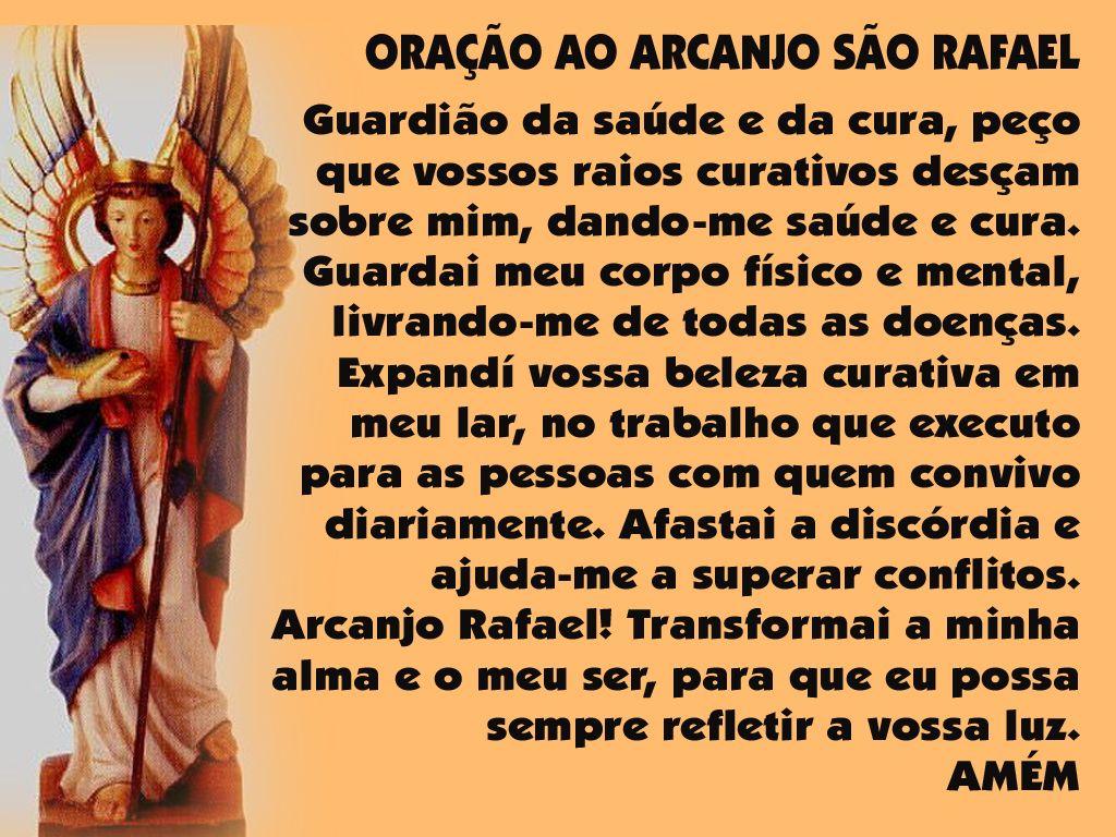 Arcanjo Rafael Oracao Da Cura Pesquisa Google Oracao Dos