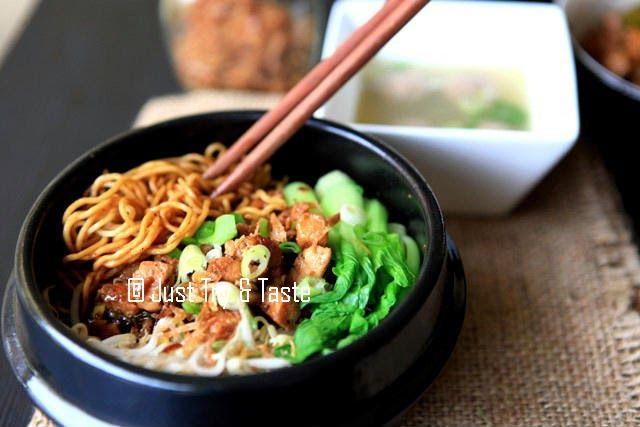 Mie Ayam Yamin Resep Makanan Makanan Sehat Makanan