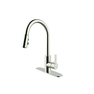 Runfine Group Pull Out Single Handle Kitchen Faucet Single