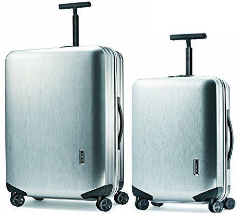 The Set of Classic Orange Fibre di Carbonio Largo Luggage Set 3-piece Luggage Set