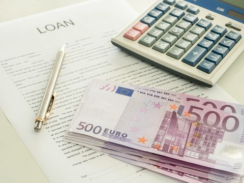Borrowed money in option trading