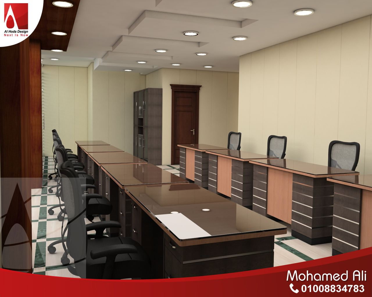 مكاتب الموظفين Home Decor Home Conference Room Table