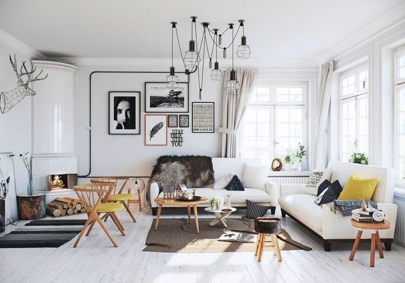 Nordic Inspired Living Room Industrial Interior Design For Small Squar Living Room Scandinavian Scandinavian Design Living Room Minimalist Living Room Design