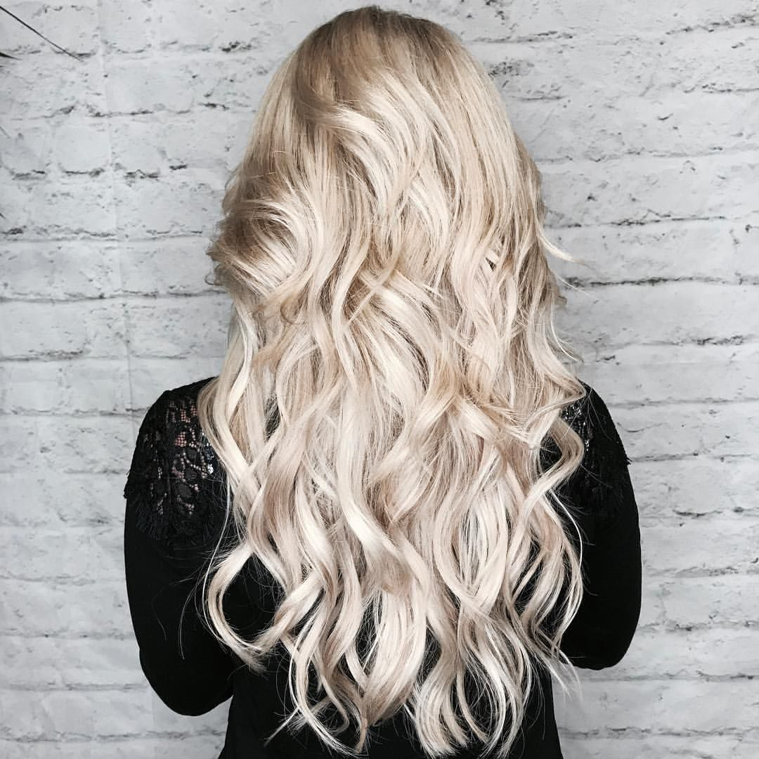 51 Likes 12 Comments Blonde Hair With Habit Hand Tied Extensions