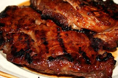 Spicy Sugar Steaks - A spicy rub of brown sugar, paprika, chili powder, Cajun seasoning, garlic and onion powder, perfect for grilled or pan seared steaks.