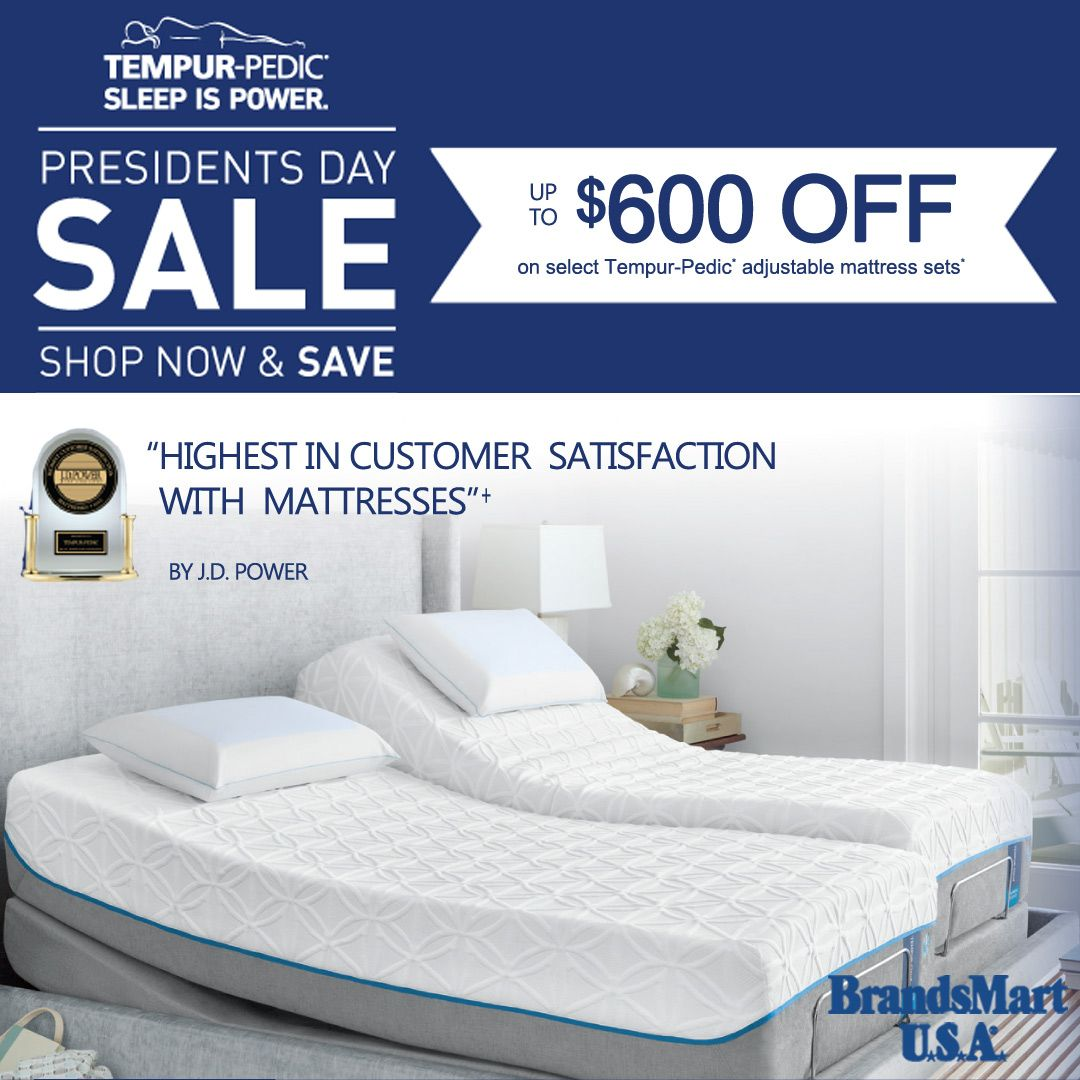 tempur pedic shop now save sleep is power presidents
