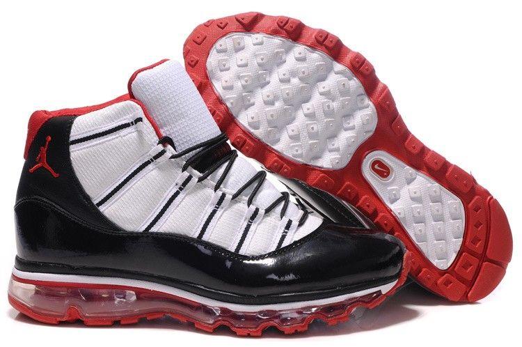 Jordan 11 Air Max Fusion Black White