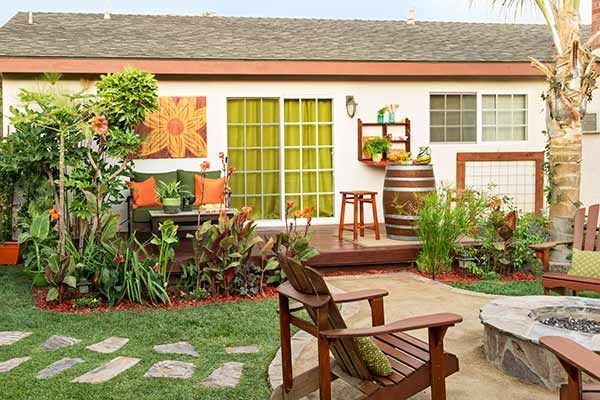 A Seabee Designs a Long-Distance Backyard Remodel #backyardremodel Photo: Lisa Romerein | thisoldhouse.com | from A Seabee Designs a Long-Distance Backyard Remodel #backyardremodel