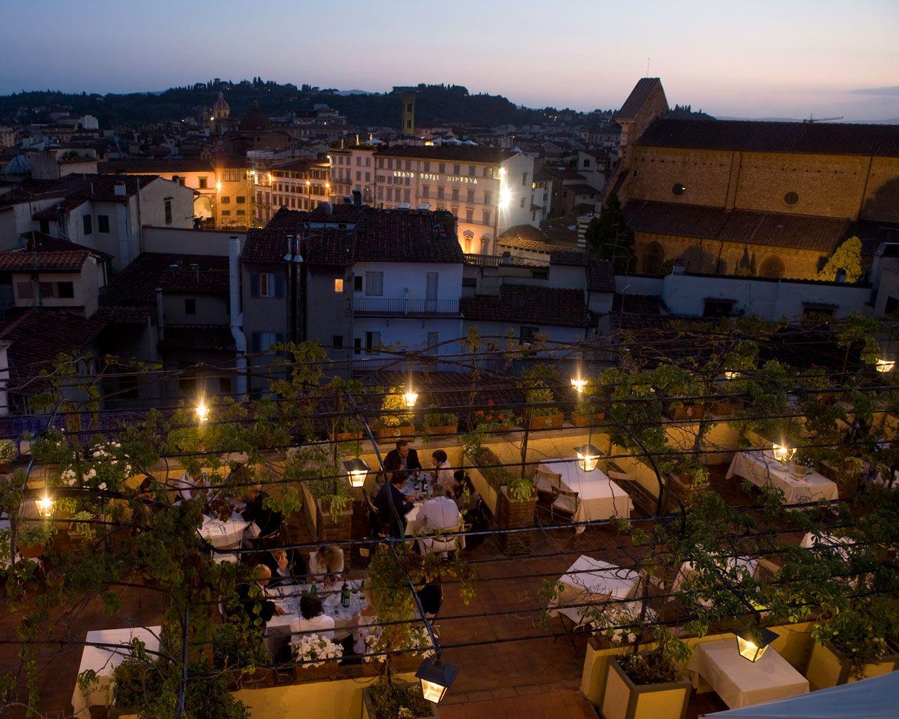 Restaurant Terrazza Brunelleschi Florence Florence