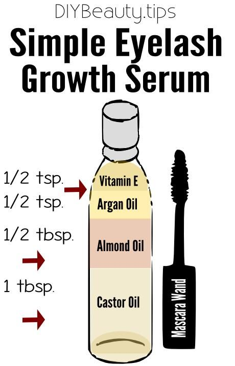 52a926bcaf8 How to get thicker, longer and beautiful lashes with this simple growth  serum!