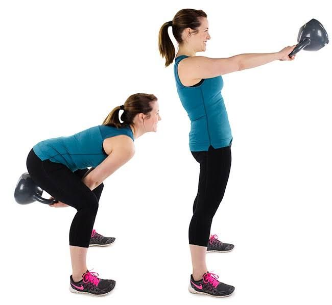 10 Best Kettlebell Exercises For Strong And Sculpted Abs: Kettlebell Swings