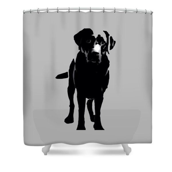 Designer Shower Curtain Dog Bathroom Curtain Bathroom Decor