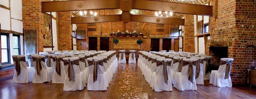 5 Star Wedding Venue Near Winchester Lainstone House