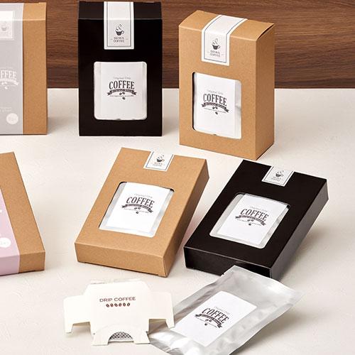 パッケージ通販 ドリップ コーヒー パッケージ 簡単自作パッケージのパッケージデザインnet 2020 画像あり パッケージデザイン お年賀 ギフト