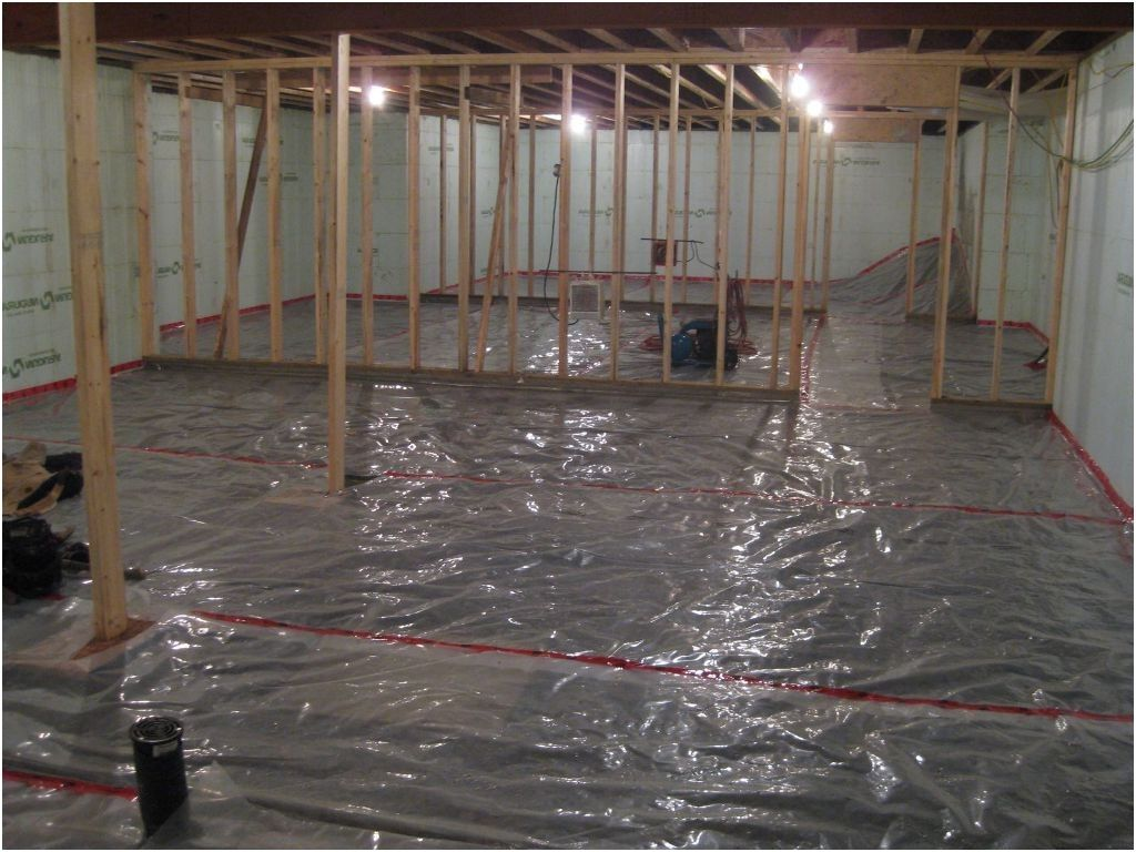 Basement Floor Vapor Barrier From Vapour Barrier Basement Floor Basement Bathroom Design Basement Bathroom Remodeling Basement Flooring Waterproof