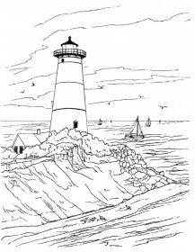 Lebensfreude Laden Landschaftsmotive Malvorlage Auf Keilrahmen Landscapes Leuchtturm 366 Lebensfreude Laden Keilrahmen Bilder Ausmalen