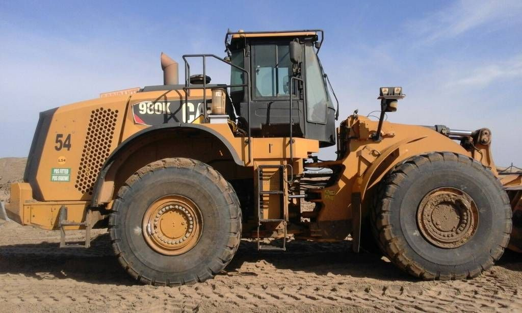 caterpillar 980 k italia caterpillar 980k original paint full history service epa engine pefect general conditions ready to work mascus italia