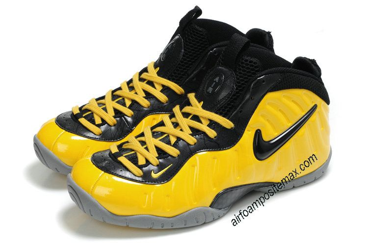 huge discount ac8f1 25485 Fake  Foamposites  Nike Air Foamposite Pro Lemon Black 314996 001  Cheap   shoes