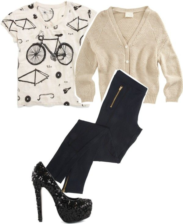 """""""& i wanna ride my bike up the hill to an old boutique in new orleans &"""" by funkyfashion11 on Polyvore"""