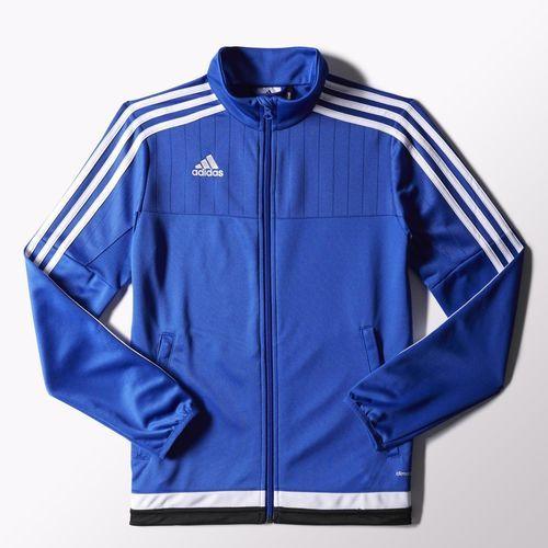 adidas Tiro 15 Training Jacket Blue | adidas US | Back 2