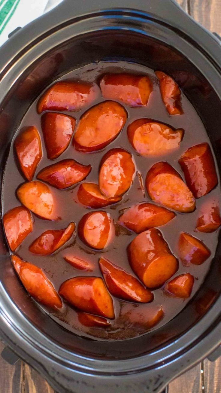 Slow Cooker Kielbasa  Feed Your Soul