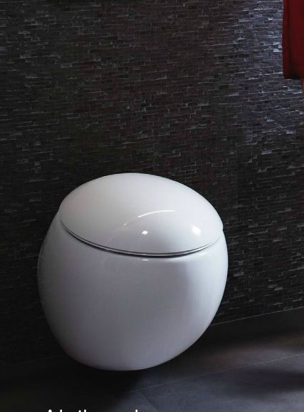 Spherical geberit toilet industrial design pinterest for Gerberit toilet