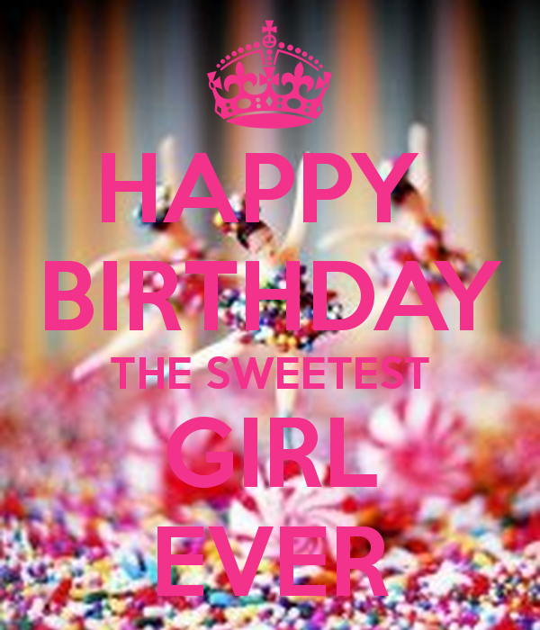 Girl Birthday wishes for girls, images and messages