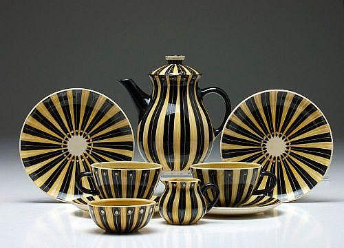 dejeuner hedwig bollhagen dresden 1956 sch nes geschirr keramik t pferei und hedwig. Black Bedroom Furniture Sets. Home Design Ideas