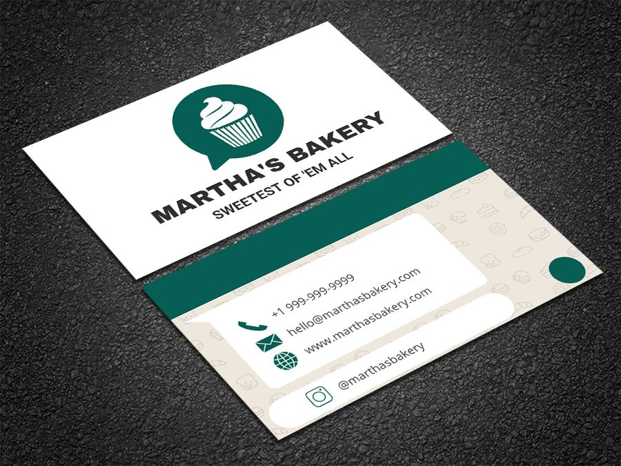 Edit this \'WhatsApp themed\' bakery template online with your ...